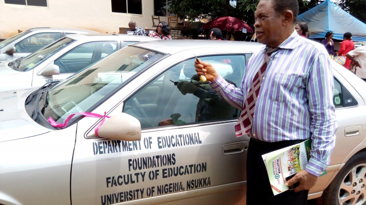 Car key to Educational Foundations